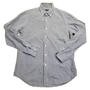 Ralph Lauren Blue Label Checkered Green Shirt